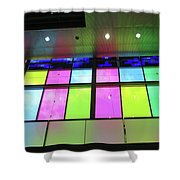Colored Glass 8 Shower Curtain