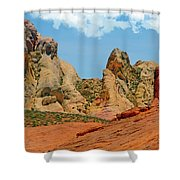 Colored Sandstones Valley Of Fire Shower Curtain