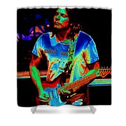 Colored Toppers Shower Curtain