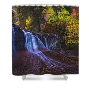 Colorfalls Shower Curtain