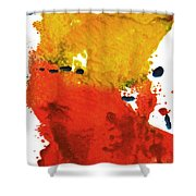 Colorfield Shower Curtain