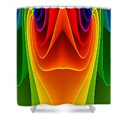Colorful 3a Shower Curtain