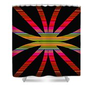Colorful Abstract 11 Shower Curtain