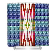 Colorful Abstract 13 Shower Curtain