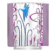Colorful Abstract 9 Shower Curtain