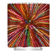 Colorful Abstract Photography Shower Curtain