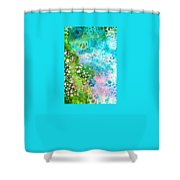 Colorful Art - Enchanting Spring - Sharon Cummings Shower Curtain