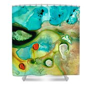 Colorful Art - Soul Shine - Sharon Cummings Shower Curtain