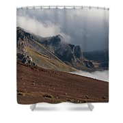 Colorful Ash Shower Curtain