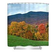 Autumnal Vermont Shower Curtain