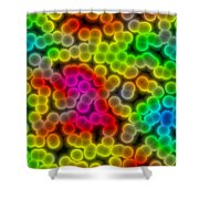 Colorful Bacteria Shower Curtain