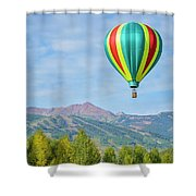 Colorful Balloon  Shower Curtain