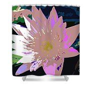 Colorful Beauty Work Number 13 Shower Curtain