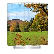 Colorful Cabot Shower Curtain