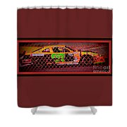 Colorful Car  Shower Curtain