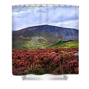 Colorful Carpet Of Wicklow Hills Shower Curtain