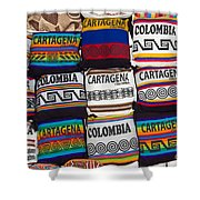 Colorful Cartagena Shower Curtain