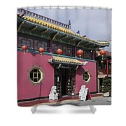 Colorful Chinatown_2 Shower Curtain