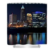 Colorful Cleveland Shower Curtain