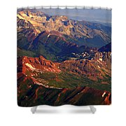 Colorful Colorado Planet Earth Shower Curtain