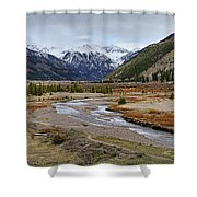 Colorful Colorado Valley Shower Curtain