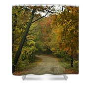 Colorful Country Shower Curtain