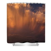 Painting With Clouds, Part 3 Shower Curtain