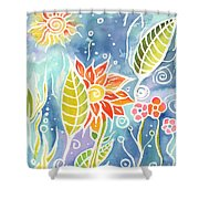 Colorful Day Shower Curtain