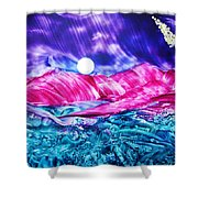 Colorful Desert Shower Curtain