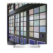 Colorful Doors Shower Curtain