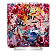 Colorful Expression 12 Shower Curtain