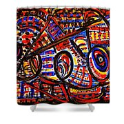 Colorful Expression 18 Shower Curtain