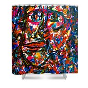 Colorful Expression-7 Shower Curtain