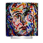 Colorful Expression-8 Shower Curtain