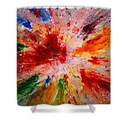 Colorful Expression-9 Shower Curtain