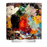 Colorful Expressions Shower Curtain