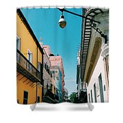 Colorful Facades Shower Curtain