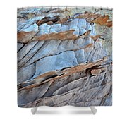 Colorful Fins Of Sandstone In Valley Of Fire Shower Curtain