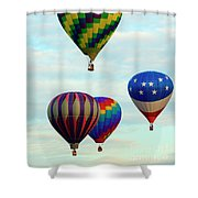 Colorful Four Shower Curtain
