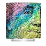 Colorful Franklin Shower Curtain