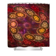 Colorful Galaxy Of Stars Shower Curtain