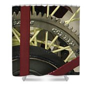Colorful Gears Shower Curtain
