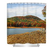 Colorful Georgia Shower Curtain