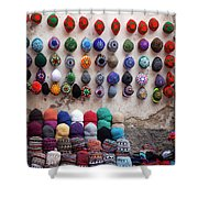 Colorful Hats Shower Curtain