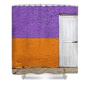 Colorful In Negril Shower Curtain