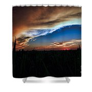Kansas - Land Of Beautiful Sunsets Shower Curtain