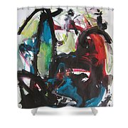 Colorful Landscape1112 Shower Curtain