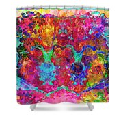Colorful Life Shower Curtain
