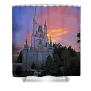Colorful Magic Shower Curtain