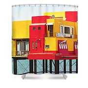 Colorful Mexico Shower Curtain